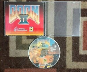 Doom II 2 CD-Rom Windows 95 GT Interactive Software ID First-Person Shooter