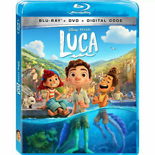 Luca (Blu-ray, 2021) Blu-Ray Only with case/artwork. No Dvd or Digital Ships Now