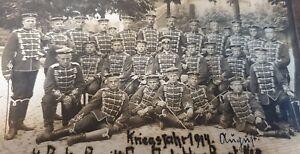Original Fotoalbum 1WK mit 34 original Fotos Totenkopf Husaren Ulanen Offiziere