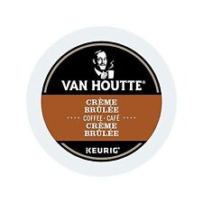 Van Houtte Creme Brulee Coffee, 24 Count K-Cups for Keurig Brewers