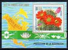 Fleurs - Guinée Equatoriale (126) bloc oblitéré