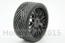 4pcs 1/8 Buggy On-Road Tyre Tire Nylon Y-Spoke (Black) For GT XO-1 22046+26010