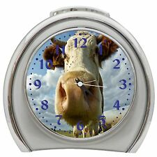 And The Cow Say Muhhhhh Desktop Night Light Travel Alarm Clock