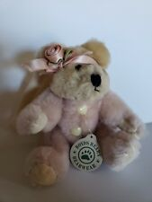 Boyds Bears Angel Tree Ornament Pink Rose 1990 - 1996 Christmas Vintage Collect