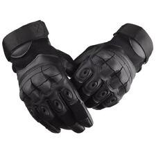 New  Paintball Airsoft Full Finger  Gloves - Black Large