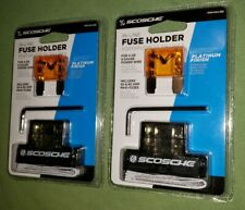 New listing 2 Scosche In-Line Fuse Holders Pmfhikasd 4 or 8 gauge 40 & 80 amp maxi-fuses New