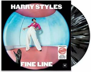 Harry Styles - Fine Line 2xLP Record / Vinyl - Black White Splatter Colored Set