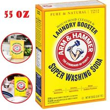 Super Washing Soda Household Cleaner Laundry Booster Home Detergent 55 Ounce