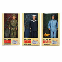 Action Man Deluxe Action Figure - Choose Pilot, Sailor or Army Soldier Original