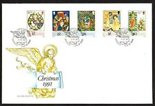 Isle of Man Christmas 1992 First Day Cover