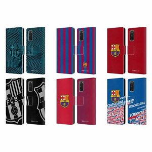 OFFICIAL FC BARCELONA CREST LEATHER BOOK WALLET CASE COVER FOR SAMSUNG PHONES 1