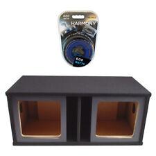 "Kicker Solobaric Dual 15"" Custom L3 L5 L7 Subwoofer Enclosure Sub Box Amp Kit"