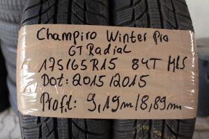 2 x  GT Radial 175/65/15  84T  M&S  GT Winter Pro 8,89mm DOT 2015