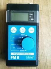 Fauser Elektrotechnik Feldmeter FM6 wie neu ! Esmog Rayonex