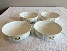 "4 Villeroy & Boch ""PARKLAND"" Soup-Cereal  Bowls 5.5  Wide X 2"" High NEW"
