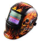 Auto Darkening Welding Helmet  Solar cells less 20Amp DIN.9-13