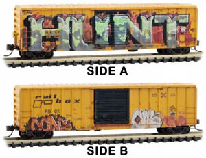 """Micro-Trains MTL Z-Scale 50ft Box Year in Railbox 2020 #9 """"National Hunting Day"""""""