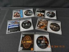 Sony Play Station 3 (Ps3) Lot Of 5 Video Games, L.A. Noire, Farcry 3 & 4, More