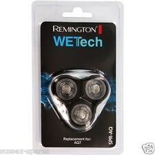 Genuine Remington SPR-AQ, WetTech, AQ7,  3 x Rotary Cutting Heads, SPRAQ, UK!!
