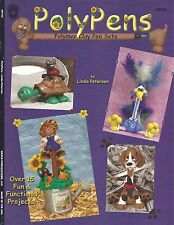 PolyPens Poly Pens Polymer Clay Pen Sets Linda Peterson Craft Book NEW OOP