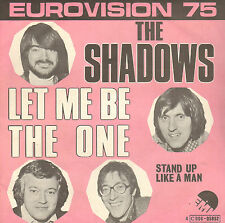 "SHADOWS - Let Me Be The One (1975 EUROVISON VINYL SINGLE 7"" BELGIUM PS)"