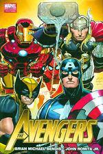 Avengers Volume Vol 1 HC Hardcover Marvel Comics 2011(#1-6) Bendis Romita Jr