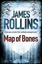 Map of Bones by James Rollins (Paperback) New Book