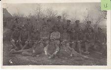 Soldats allemands guerre 14-18 photo sur CPA lot 31