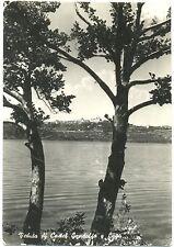VISTA DI CASTEL GANDOLFO E LAGO (ROMA) 1955
