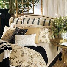 Nip $220 Ralph Lauren Plage D'Or Floral Bed Skirt Bedskirt ~Champagne *KING