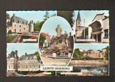 """SAINTE-HERMINE (85) SALLE DE CINEMA """"LE TIGRE"""" , CHATEAU & MONUMENT CLEMENCEAU"""