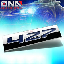 ALUMINUM STICK ON 3D POLISHED BLUE LETTERS 427 DECAL EMBLEM TRIM BADGE LOGO