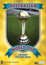 World Cup Cricket - Australian Victory Pack (DVD, 2015, 3-Disc Set)