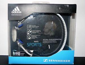 Sennheiser PX 685i Sports Adidas Headphones White 3.5mm