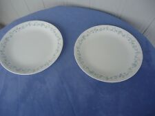 2 corning ware corelle dinner  plates country cottage