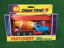 Matchbox Lesney K-6 Super Kings GMC Cement Mixer ovp