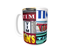 TIM Coffee Mug / Cup featuring the name in actual sign photos
