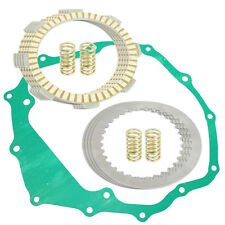 CLUTCH FRICTION PLATES and GASKET KIT Fits HONDA TRX250 Recon 250 2X4 1997-2001