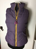Joules Higham Mulbery Padded Gilet Body warmer Jacket Top 10 Fitted Bodywarmer