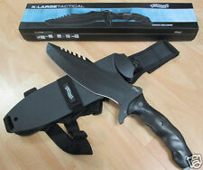 Walther Umarex X-Large Tactical Knife Tanto Messer Gürtelmesser Scheide 50765