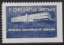 Usa Cinderella stamp: 1940 Armenian Sanatorium, Lebanon, Pa - Yuletide - dw622d