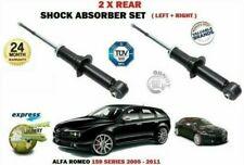 FOR ALFA ROMEO 159 939 2005-2011 NEW 2 X REAR LEFT + RIGHT SHOCK ABSORBER SET