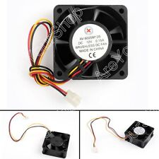 4Pcs DC Brushless Cooling Fan 12V 0.15A 6025B 60x60x25mm 3 Pin CUP Computer Fan