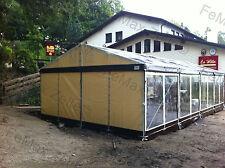 Festzelt Partyzelt Eventzelt PROFIZELT / 10x Panoramafenster