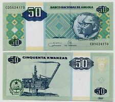 ANGOLA P146***50 KWANZAS***ND 2011***UNC GEM***LOOK SUPER SCAN