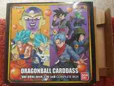 Carte Dragon Ball Z DBZ Carddass Complete Box Part 33-34 sans cartes BANDAI 2017