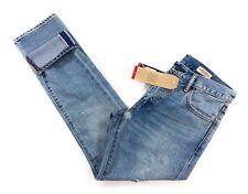 Levi's 505c Women Light Wash Slim Straight Selvedge Jeans Size 27/30