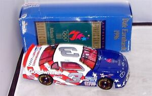 1:24 ACTION 1996 #3 GM GOODWRENCH OLYMPIC GAMES DALE EARNHARDT SR GREEN BOX