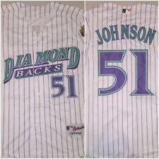 Retro Randy Johnson Arizona Diamondbacks Pinstripe SMALL Replica Baseball Jersey