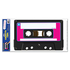 "80's Cassette MIX Tape Peel 'N Stick WALL DECOR 12"" x 24"" BIRTHDAY PARTY favors"